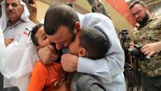 كانوا محتجزين داخل قفص حديدي..<BR> تحرير ثلاثة مختطفين خلال العملية العسكرية التي أشرف عليها الكاظمي