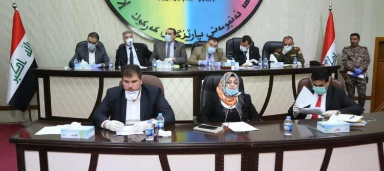 Kirkuk: Crisis Cell  extends curfew until April 11 and reduces rents by 50 percent