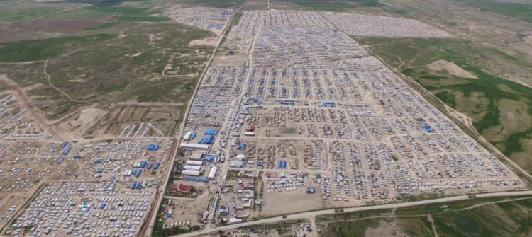 إنجاب الاطفال وتغيير الديانة والخوف تعيق عودة مئات المختطفات الايزيديات من مخيم الهول