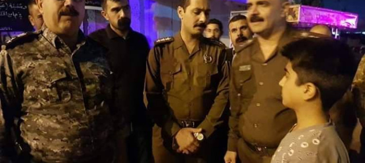 Kirkuk: Police free 12-year-old kidnapped boy
