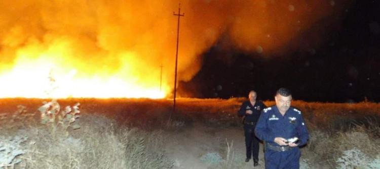 حرق أكثر من 100 دونم من الأراضي الزراعية<br>محافظ كركوك وكالة: نخشى من تكرار هذه الحوادث