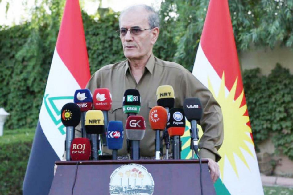 نجم الدين كريم ل(كركوك ناو):<br>سوف أرجع لأقليم كوردستان في أقرب فرصة