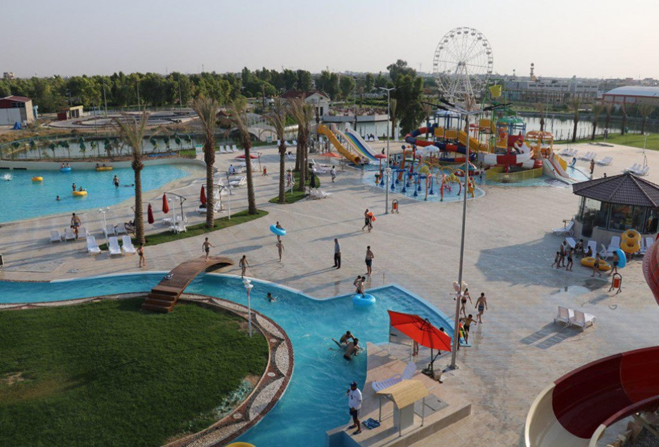 Smile Land Water Park in Kirkuk