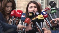 Kadın Hakları Aktivistleri, 6000'den fazla kişinin imzaladığı dilekçeyi Kürdistan Bölgesi parlamentosuna verdi