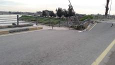 انهيار جزئي لجسرين بالموصل احدهما لم يمر عام على تأهيله