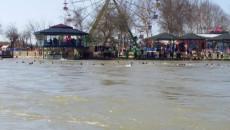 An overloaded ferry capsizes in Tigris River near Mosul leaving dozens dead