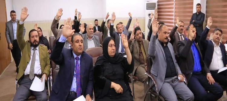 مجلس نينوى يقرر إحالة المحافظ نوفل العاكوب للتحقيق