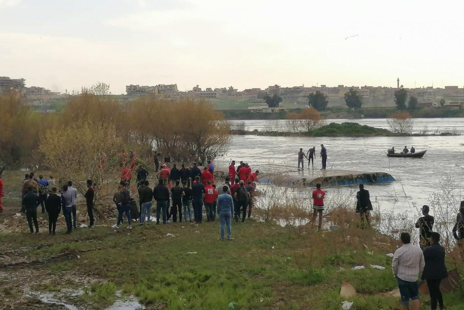 كيف غرقت عبارة الموصل؟<br>(كركوك ناو) ينشر التفاصيل الكاملة للجزيرة السياحية في نينوى