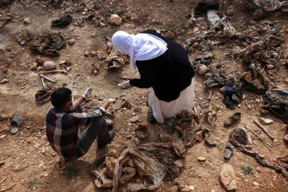 Dozens of mass graves in Shingal await start of exhumation