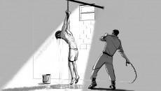 """"""" ضباطا عراقيين،مارسوا التعذيب """"<br> قصة سجين علقوه مثل """"القط"""" باحد سجون محافظة نينوى"""