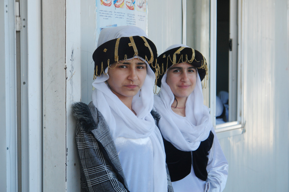 Returning to Ezidkhan <br> Ezidi Children survivors of IS helped to embrace their forefathers' faith