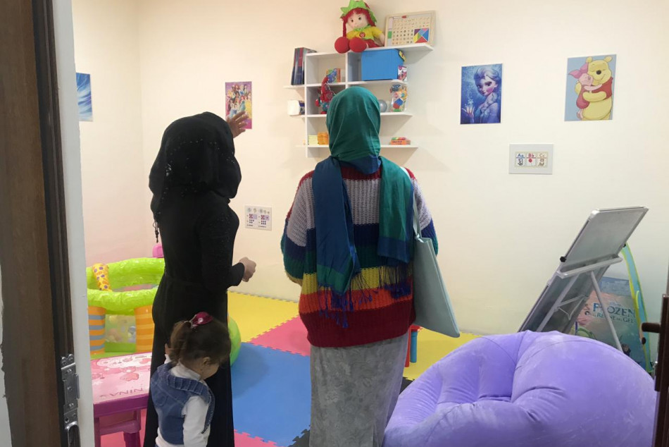 Newly-opened creativity center nurtures women's talents in Talafar