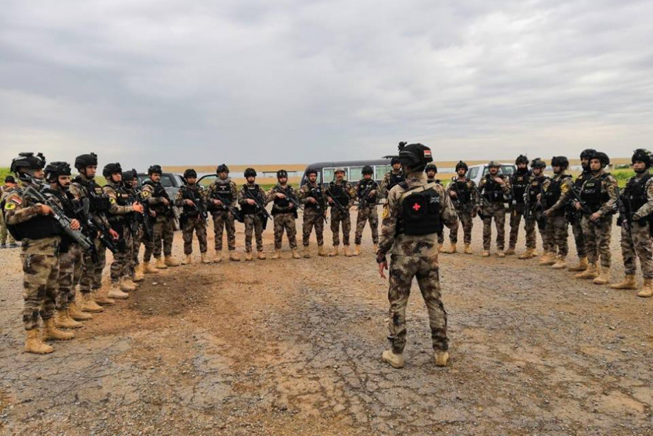 12 Deaş militanı öldürüldü<br> Kaynaklar: Askeri bir Irak-ABD operasyonunda militanlar öldürüldü