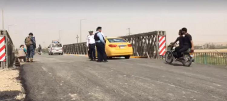 Silahlı kişiler Kerkük'ün kuzeybatısında Irak federal polisine saldırdı