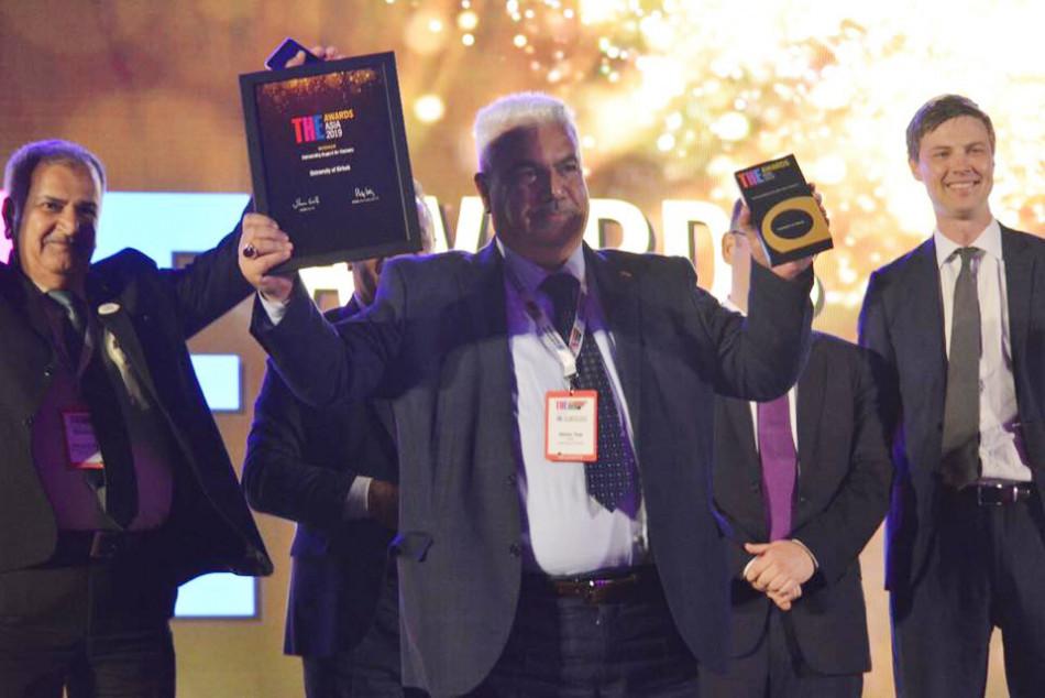 Kirkuk University announced winner at THE Awards Asia 2019